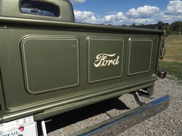 1950 Ford Tailgate Logo