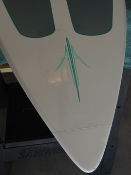 Surfboard Pinstripes